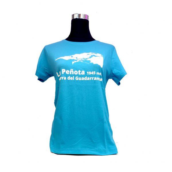 Camiseta-mujer-parque-nacional-sierra-de-guadarrama-azul