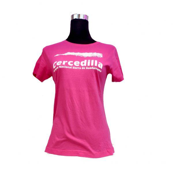 Camiseta-mujer-parque-nacional-sierra-de-guadarrama-rosa
