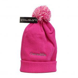 Gorros-Montañito-rosa-con-bola